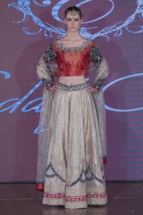 Sadaf Amir Bridal Dresses Pakistan Fashion Week London 2015 02