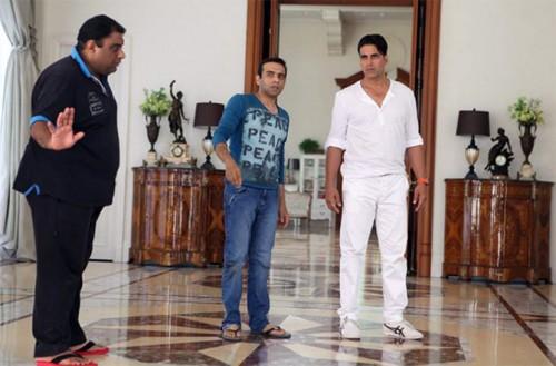 Sajid, Farhad and Akshay Kumar in Entertainment