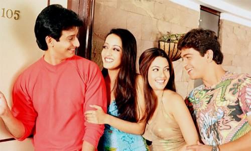 Shaman Joshi, Raima, Riya Sen and Manish Nagpal in 3 Bachelors
