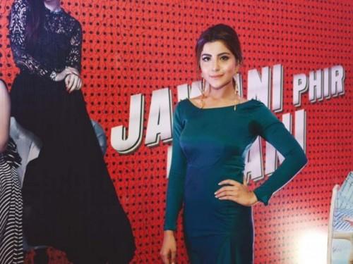 Sohai Ali Abro at Jawani Phir Nahi Ani Promotion