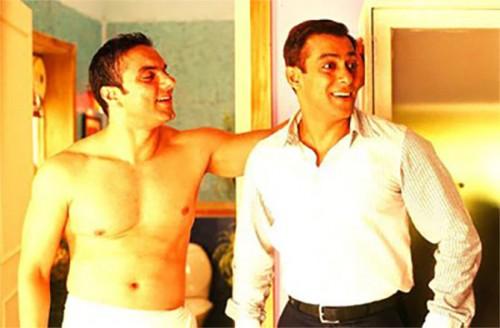 Sohail Khan and Salman Khan in Maine Pyaar Kyun Kiya