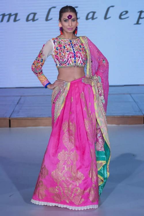 Somal Halepoto Pakistan Fashion Week London 02