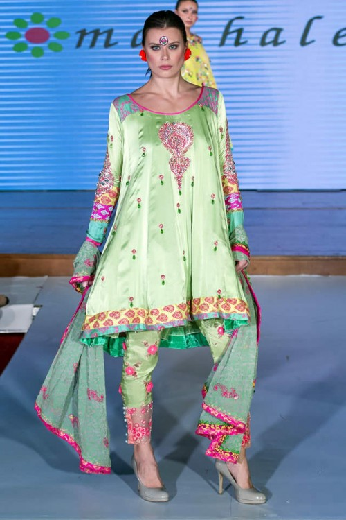 Somal Halepoto Pakistan Fashion Week London 09