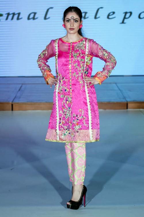 Somal Halepoto Pakistan Fashion Week London 08