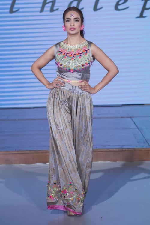 Somal Halepoto Pakistan Fashion Week London 07