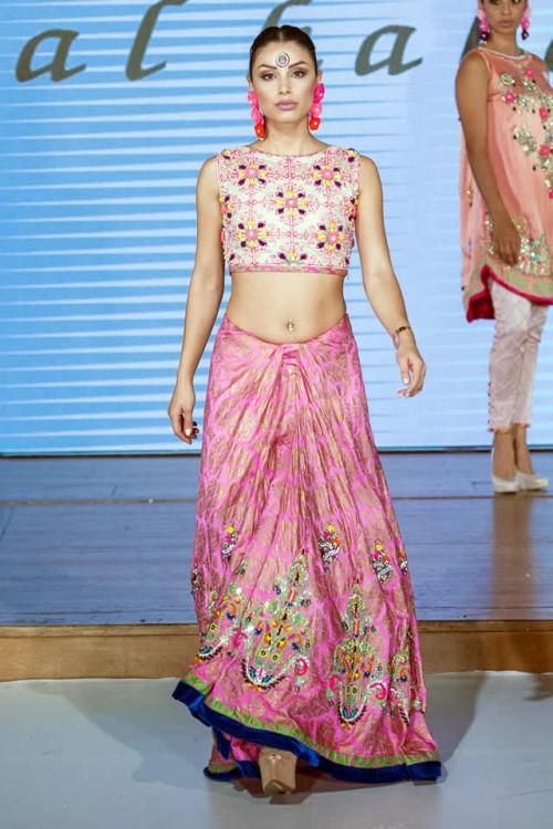 Somal Halepoto Pakistan Fashion Week London 06