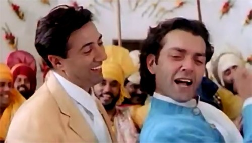 Sunny and Bobby Deol in Dillagi