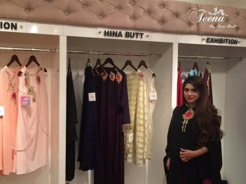 Teena By Hina Butt Winter Wedding Outfits 2015 for Girls 05