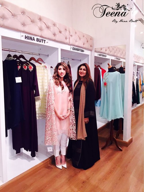 Teena By Hina Butt Winter Wedding Outfits 2015 for Girls 08