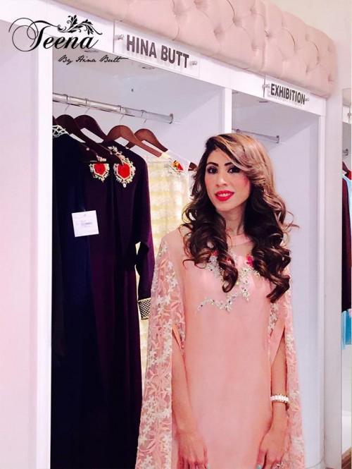 Teena By Hina Butt Winter Wedding Outfits 2015 for Girls 10