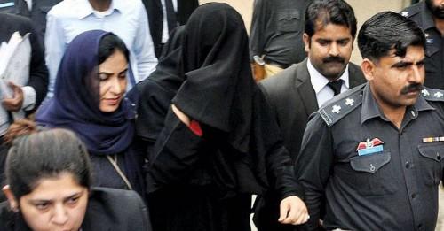 Ayyan Ali in Burka