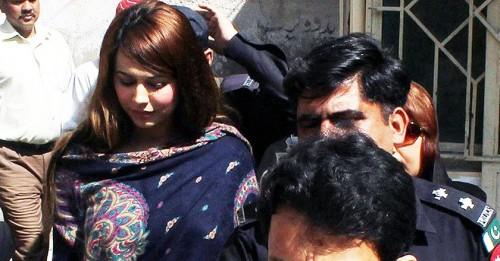 Ayyan Ali in Court