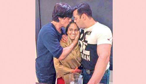 Shah Rukh Khan and Salman Khan 1