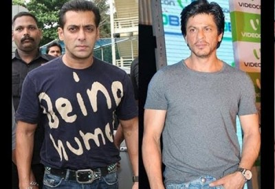 Shah Rukh Khan and Salman Khan 2