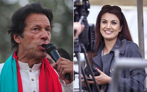 Imran Khan and Reham Khan Getting married