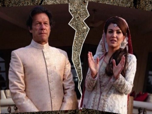 Imran Khan and Reham Khan Divorce 30-10-2015
