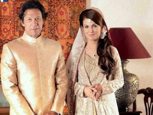 Imran Khan and Reham Khan Happy Married Life