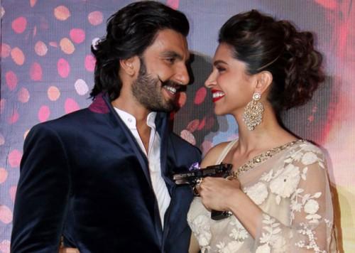 Ranveer Singh and Deepika Padukone Hot Scene