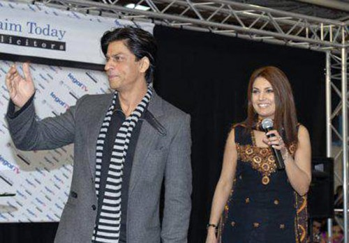 Reham Khan with Shah Rukh Khan