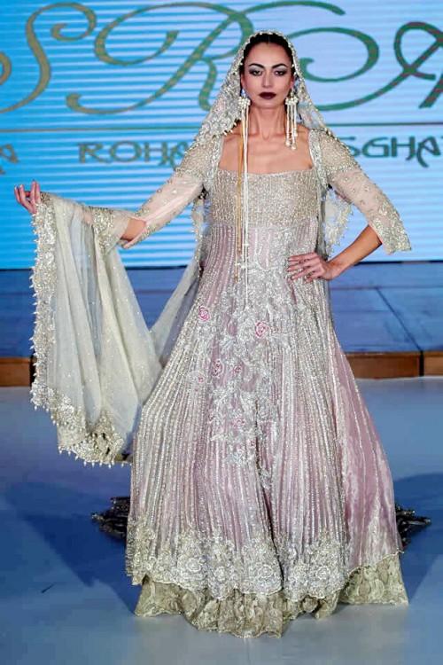 Sara Rohale Asghar Bridal Dresses Pakistan Fashion Week London 2015