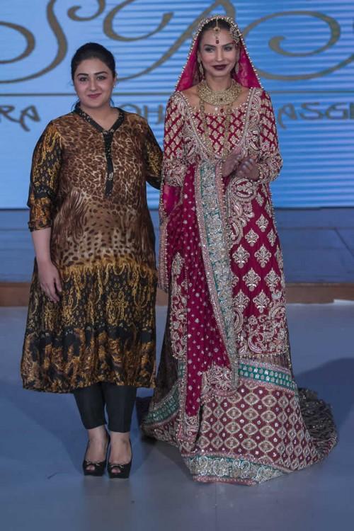 Sara Rohale Asghar Bridal Dresses Pakistan Fashion Week London 2015 10