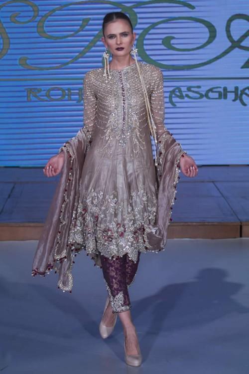 Sara Rohale Asghar Bridal Dresses Pakistan Fashion Week London 2015 01