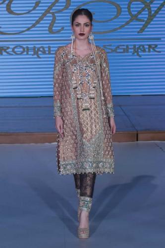 Sara Rohale Asghar Bridal Dresses Pakistan Fashion Week London 2015 03
