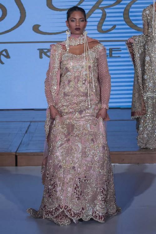 Sara Rohale Asghar Bridal Dresses Pakistan Fashion Week London 2015 05