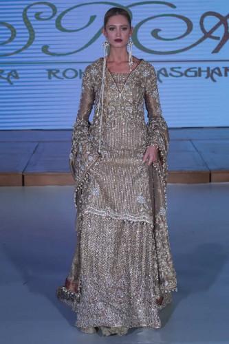Sara Rohale Asghar Bridal Dresses Pakistan Fashion Week London 2015 06