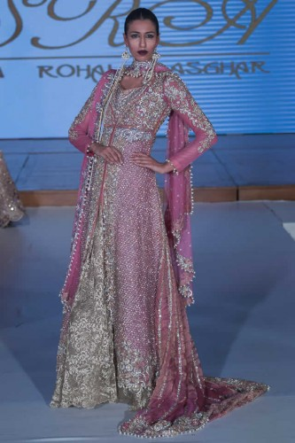 Sara Rohale Asghar Bridal Dresses Pakistan Fashion Week London 2015 08