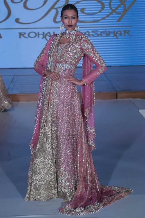Sara Rohale Asghar Bridal Dresses Pakistan Fashion Week London 2015 08