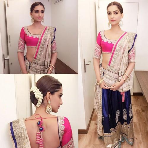 Sonam Kapoor New Look for PRDP