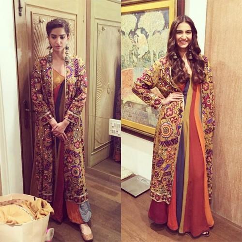 Sonam Kapoor New Look for PRDP 3