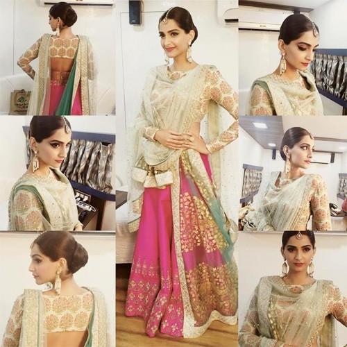 Sonam Kapoor New Look for PRDP 5