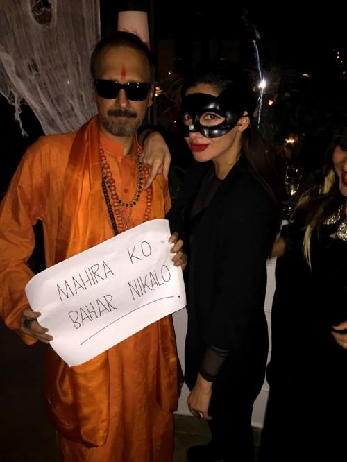 Mahira Khan Halloween Picture is not Political Statement
