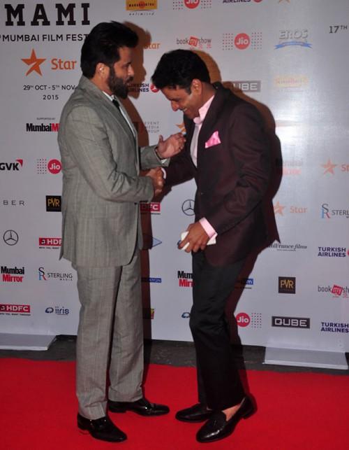 Anil Kapoor shares laugh with Manoj Bajpayee