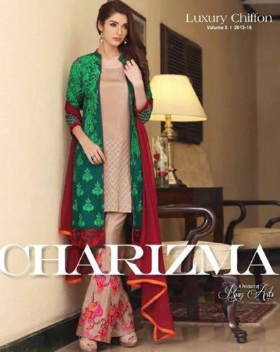 Charizma Chiffon Women Collection 2015 Volume 5