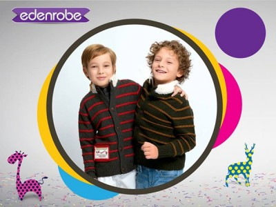 Eden Robe Kids Winter Collection 2015 Pictures