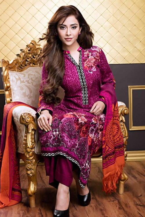 Magical Winter Collection By Gul Ahmed 01