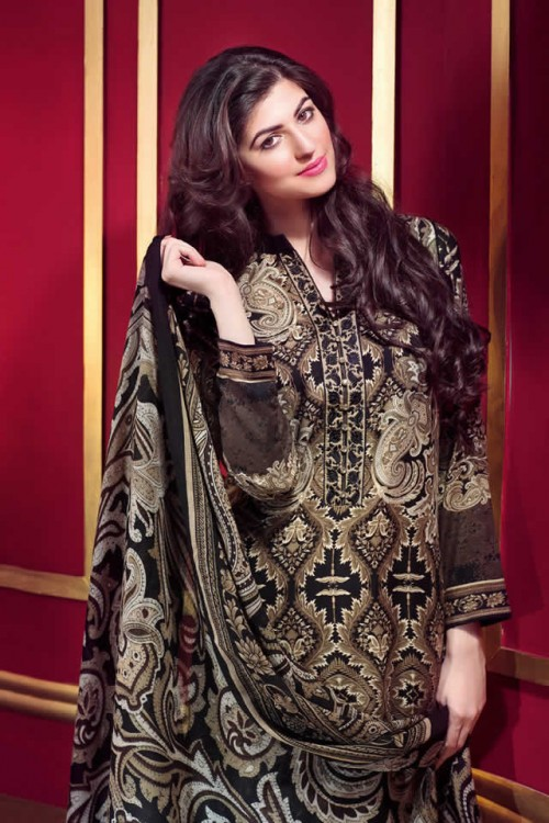 Magical Winter Collection By Gul Ahmed 02