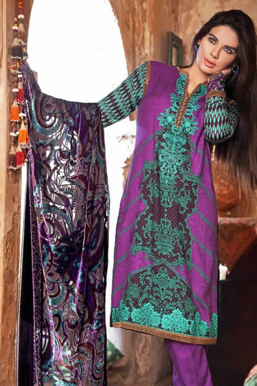 Magical Winter Collection By Gul Ahmed 04
