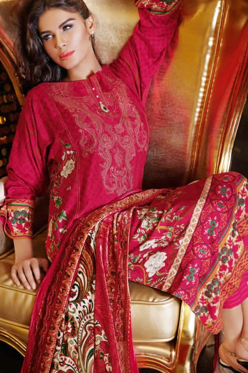 Magical Winter Collection By Gul Ahmed 05
