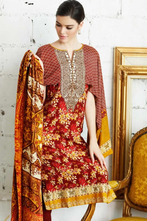 Magical Winter Collection By Gul Ahmed 06
