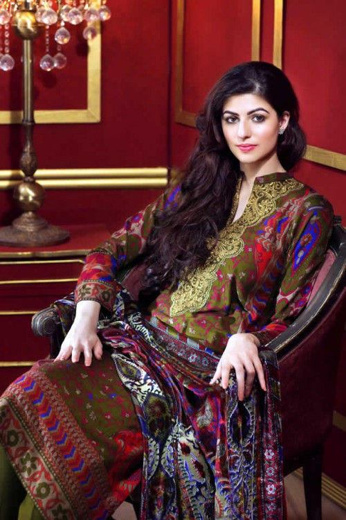 Magical Winter Collection By Gul Ahmed 07