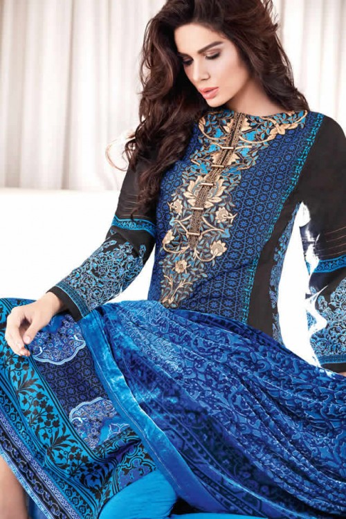 Magical Winter Collection By Gul Ahmed 09