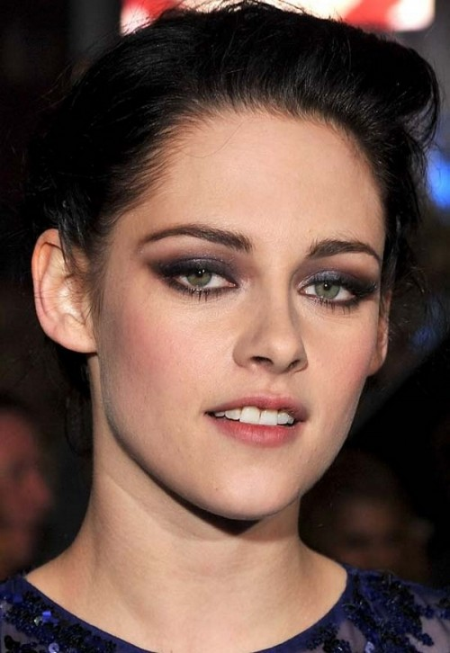 Kristen Stewart Inspired Smokey Eye Makeup