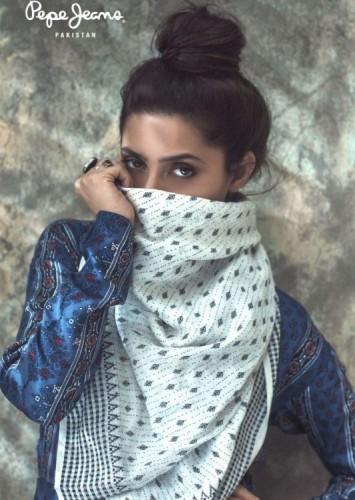 Mahira Khan's Photo Shoot For Pepe Jeans