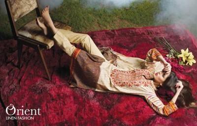 Orient Textiles Women Linen Collection 2015