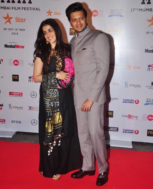 Riteish Deshmukh and Wife Genelia D'Souza