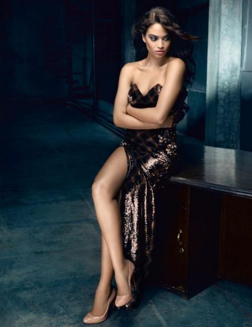 SRK Vogue PhotoShoot with Victoria's Secret supermodel 07